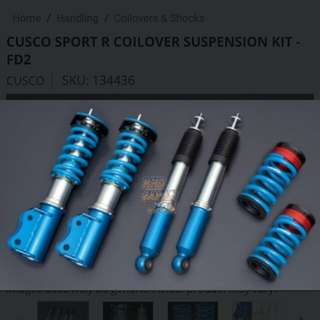 Cusco Sport R Coilovers