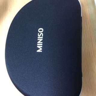 Miniso | stereo wired headphones MH700 (white/putih)