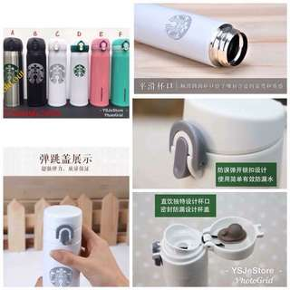 Starbucks Inspired Thermo flask (ready stock)