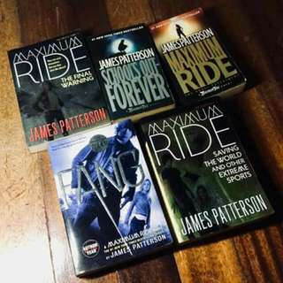 Maximum Ride Books