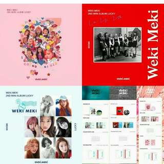 Weki Meki 2nd Mini Album Lucky