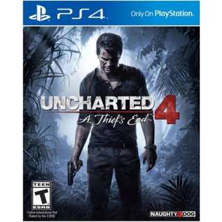 PS4 Uncharted 4 : A Thief's End [Region 3 English/Chinese]