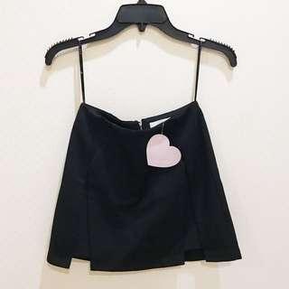 Love Bonito Black Skirt