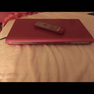 Iview DVD player in pink. In perfect condition. Willing to change the price.