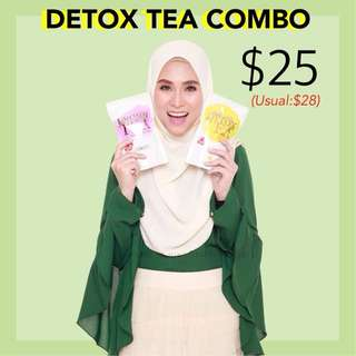 Instocks Detox teas