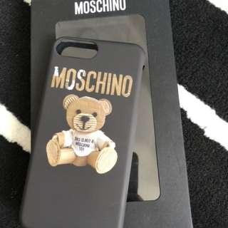 Original Moschino Iphone 7 plus/8 plus case
