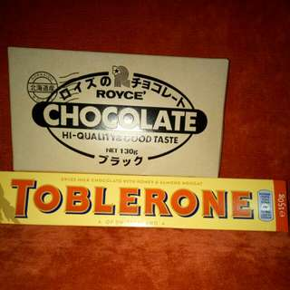 TOBLERONE & ROYCE IMPORTED CHOCOLATE