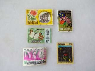 Malaysia Stamps #M01