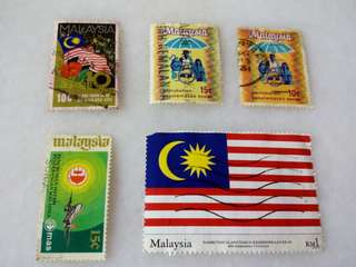 Malaysia Stamps #M5
