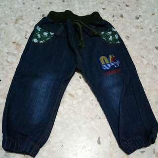 Pants jeans size 1-2y