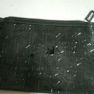 DKNY! 正版漆皮手提包