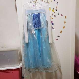 Elsa dress size 130