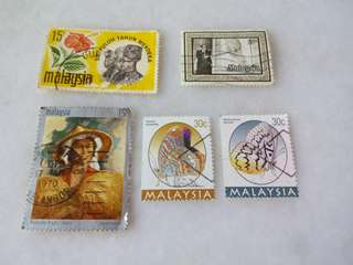 Malaysia Stamps #M6