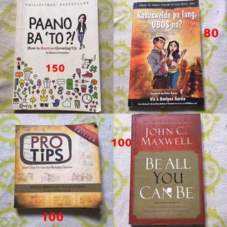 BOOKS FOR SALE (NEGOTIABLE)!!!