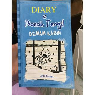 diary of a wimpy kid cabin fever (terjemahan)