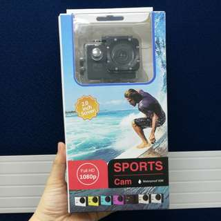 [Sports Cam]Full HD 1080P Waterproof Sports Action Camera 2.0 inch LCD #15Off