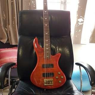 Schecter stiletto extreme 4 bass guitar