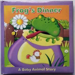 Baby Story Book - Frog's Dinner - A Baby Animal Story