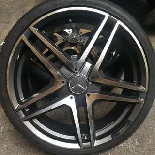 Replica wheels 8.5x20 5/112 et45
