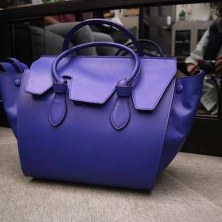 Celine Tie Bag Natural Calfskin
