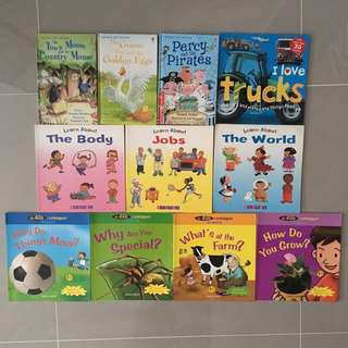 Mix & Match - English & Chinese Books for Preschoolers & Lower Primary Kids