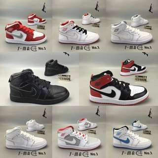 Nike Jordan kids shoes