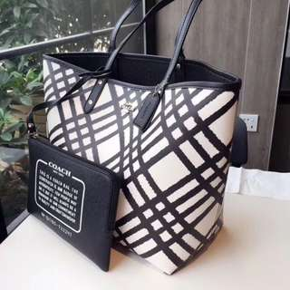 Korean 2in1 Coach Tote Bag(High Quality)