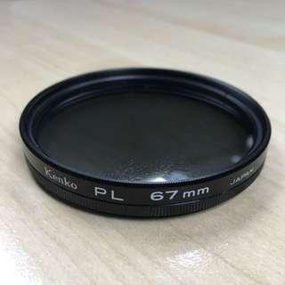 Camera filter