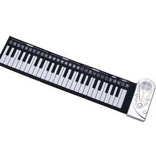 Portable Folding Hand rolled PRO SOFT piano 49 key Keyboard