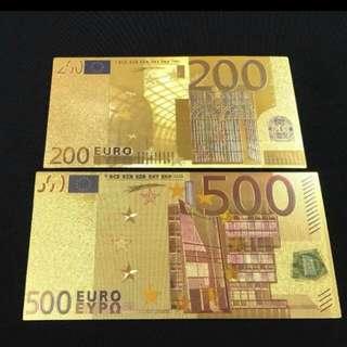 Euro Comemerative Note
