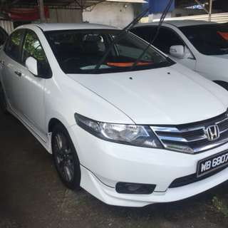 honda city 1.5 e spec