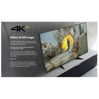 """PANASONIC 55"""" 4K HDR ULTRA HD SMART LED TV (PAYMENT AFTER DELIVERY)"""