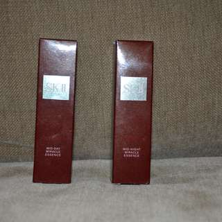 SKII Mid-day and Mid-night miracle essence set