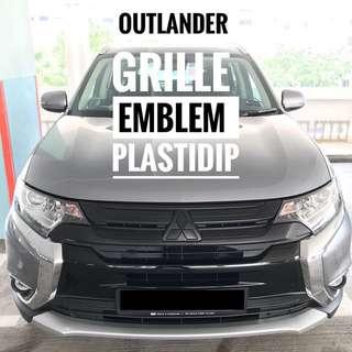 Mitsubishi Outlander Plastidip Mobile Service Plasti Dip