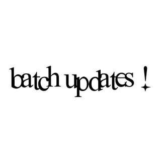[INFO] P.O. BATCH UPDATES