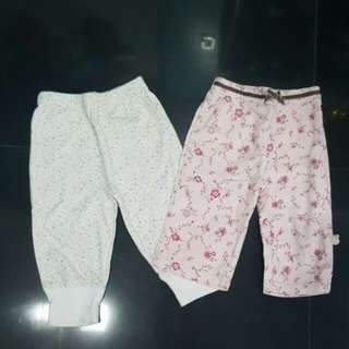Repriced!!! (3-6 Months) BABY PANTS(from 100)