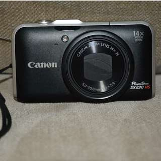 Canon SX230HS camera