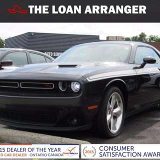 2016 Dodge Challenger with 20,358km and 100% approved financing