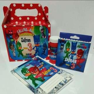 Customised PJ Masks Goodie Box