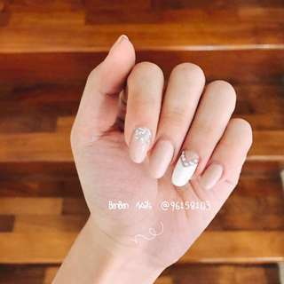 Nude Nails design