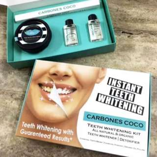 100% Organic Teeth Whitening