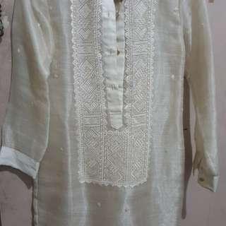Barong dress (piña)