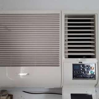 Panasonic Window Type Airconditioner 1.5hp
