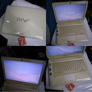 Sony VAIO CS13 14 Inch 4GB 320GB Laptop Notebook $245