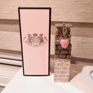 Authentic Juicy Couture Perfume w/ Strawberry Charm  1 fl. oz.