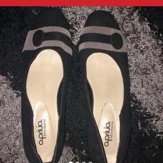 REPRICE sepatu wedges pendek