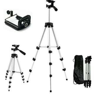 Tripod Stand Aluminum Camera 3110A Ready Stok