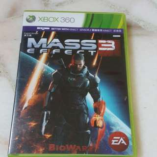 Xbox 360 Mass Effect 3(Disc 1 and 2)
