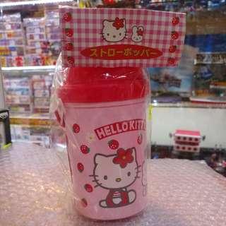 全新 絕版 SANRIO 1999年 Hello Kitty 斜孭水壺 清貨大減價