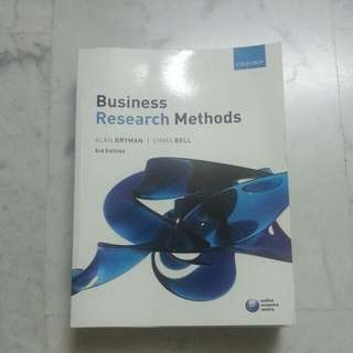 Business research methods textbooks carousell singapore business research methods alan bryman emma bell 3rd edition oxford fandeluxe Image collections